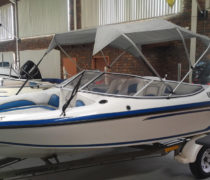 Raven Excel 19 ft blue-white