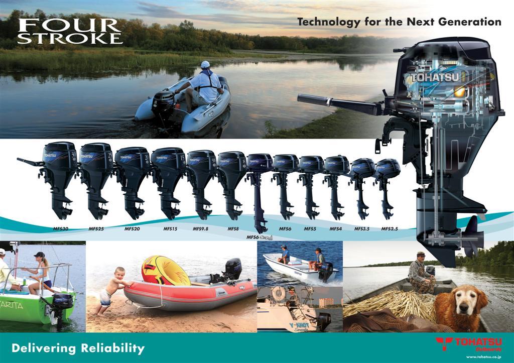 Tohatsu outboard motors motor king marine parsun for Tohatsu outboard motors online
