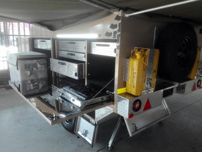 2 Sleeper Full Offroad Caravan 1