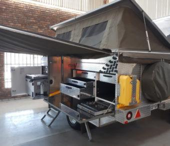 Crown Venture Caravan (4 sleeper offroad Caravan)
