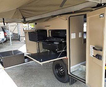 Crown Warrior Caravan  (2 sleeper offroad Caravan)